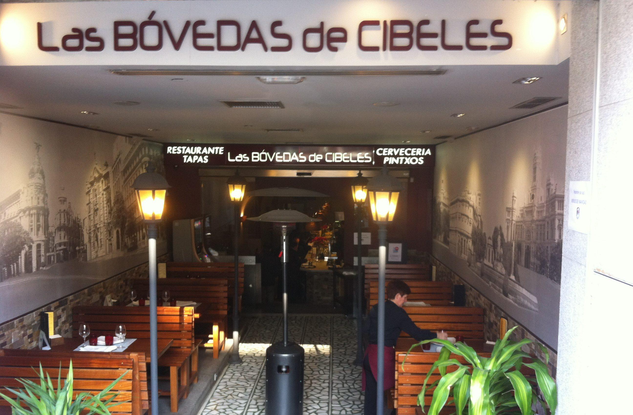Las Bóvedas de Cibeles: un restaurante innovador en el centro de Madrid