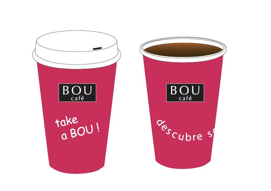 Take a bou un concepto diferente del caf para llevar for Cafe para llevar