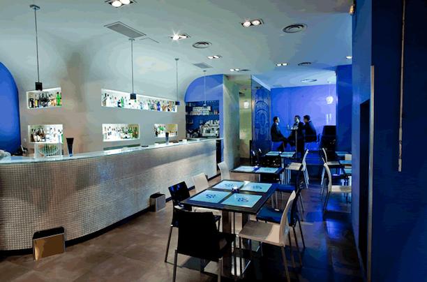 Un restaurante-lounge vanguardista a escasos metros del Santiago Bernabéu