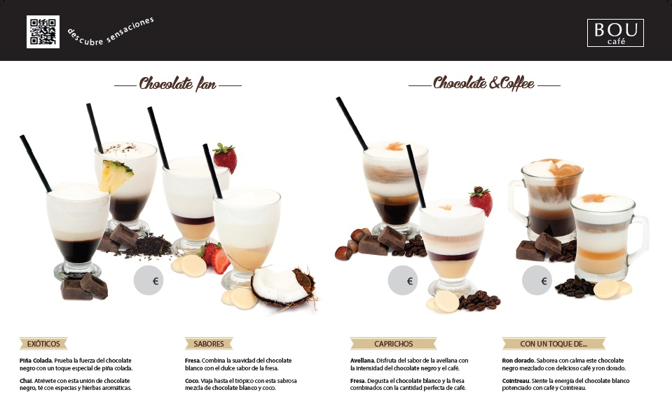 Carta de invierno BOU Café | Chocolate & Coffee Fan