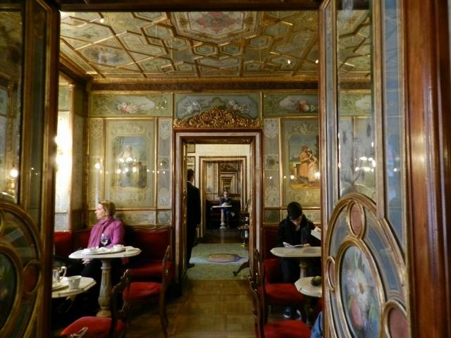 Café Florian (Venecia), el café más antiguo de Italia