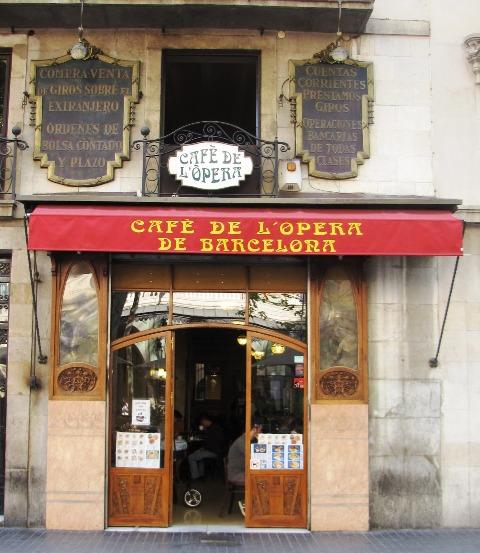 Café de la Ópera, patrimonio histórico de la ciudad de Barcelona