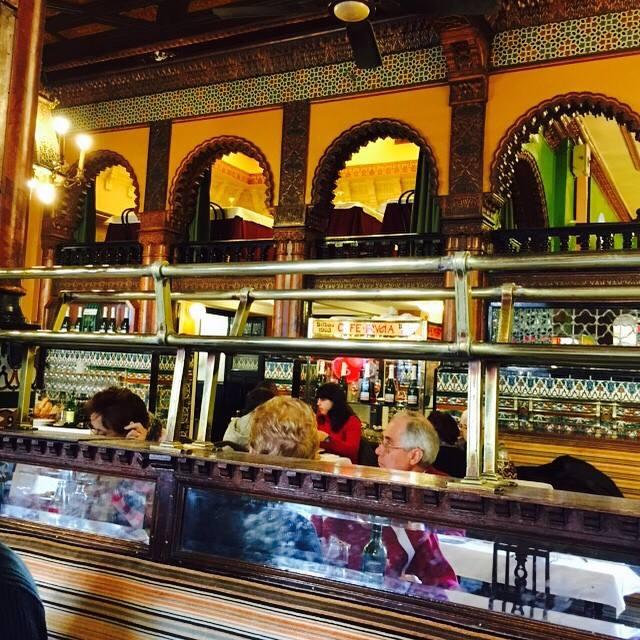 Café Iruña, referente obligado para todos los bilbaínos