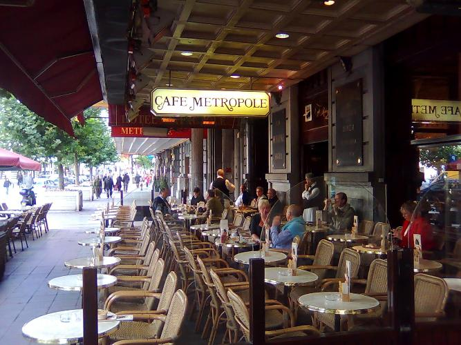 Café Metropole, cafetería con más de 100 años de historia en el corazón de Bruselas