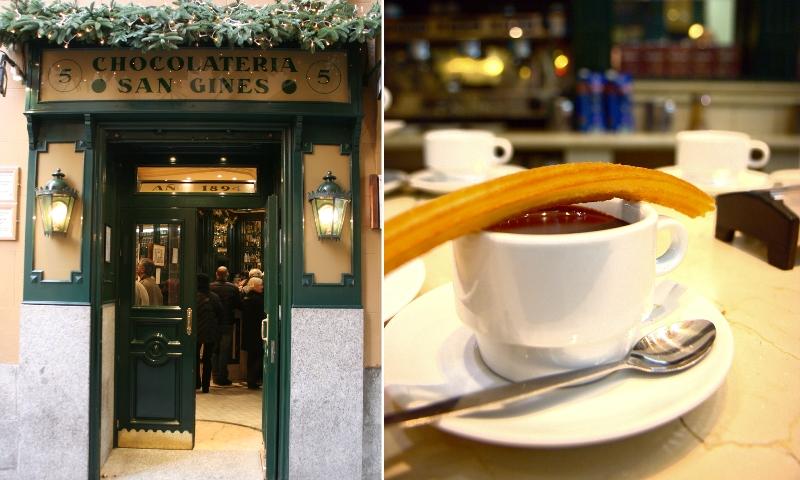 Chocolatería San Ginés, tradición madrileña desde 1894