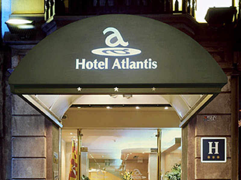 Hotel Atlantis, comodidad y excelencia en el centro de Barcelona