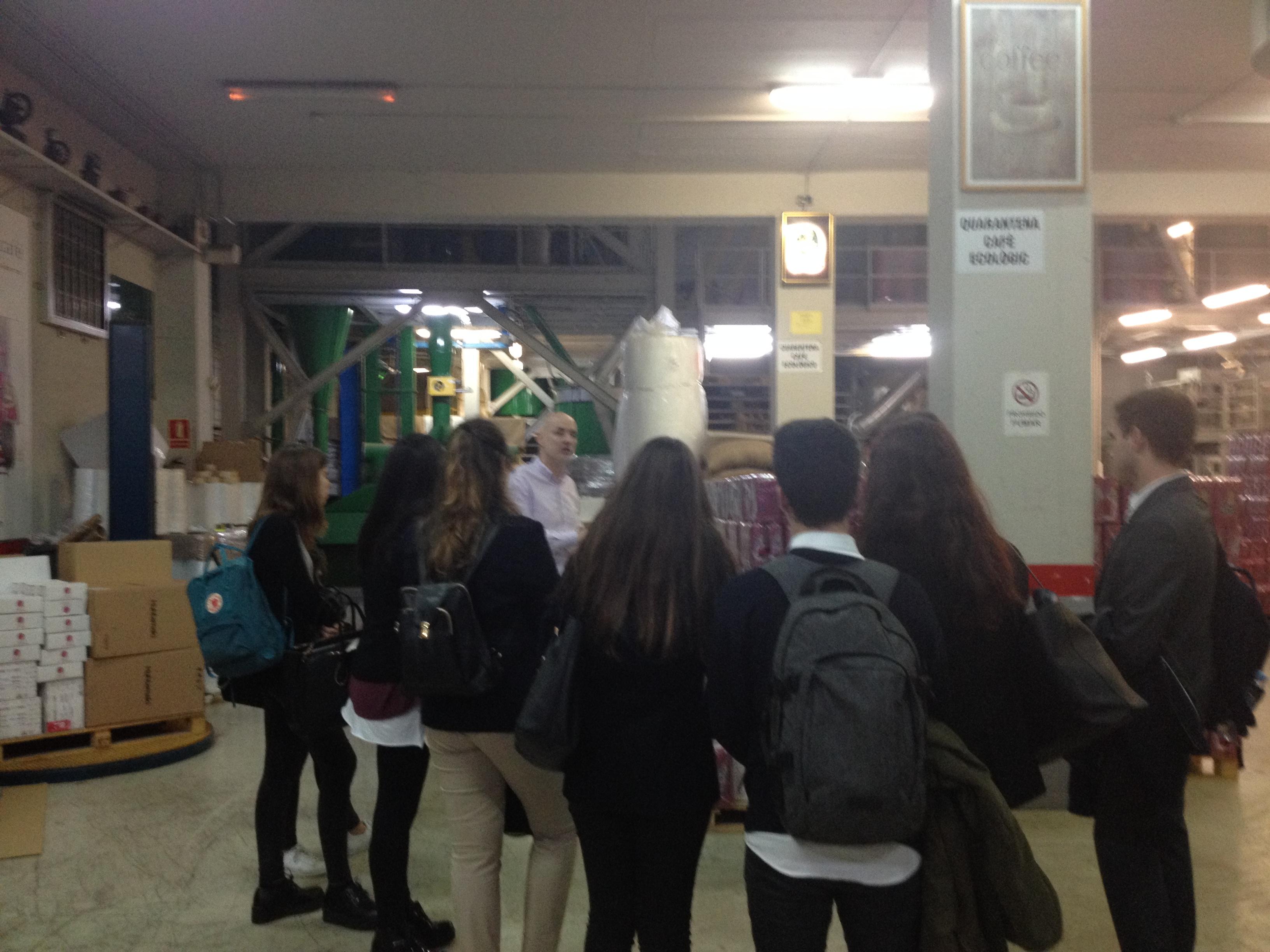 Visita estudiants Sant Ignasi Universitat Ramon Llull
