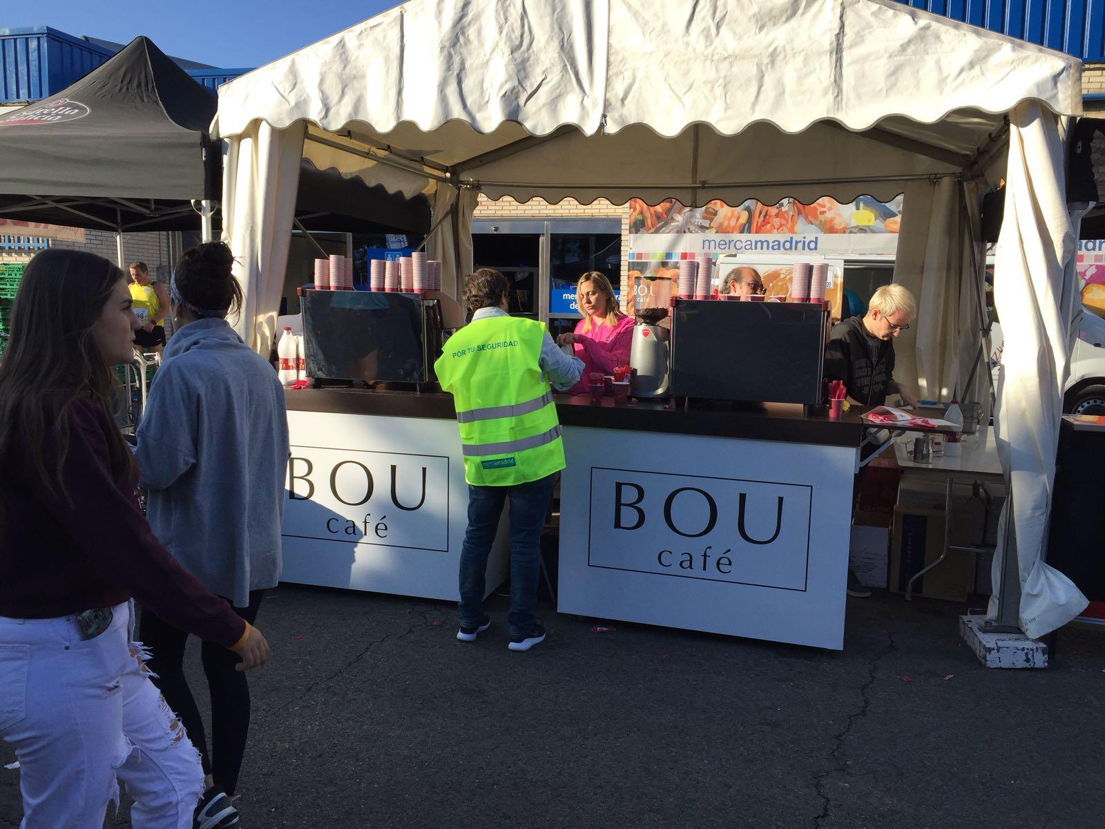BOU Café en la carrera de 10k MercaMadrid